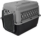 Large Dog Cat Pet Carrier Crate Travel Cage Gray Black 30 50 LBS Portable Kennel