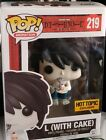 Funko Pop! Animation - Death Note - L (with Cake) #219 Exclusive Figure