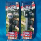 NEW!! PEZ CANDY & DISPENSER MLB COLORADO ROCKIES - BASEBALL and HAT (2 PACK)