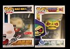 Funko POP Mad Max Exclusive & Masters Of The Universe Skeletor New & SEALED!