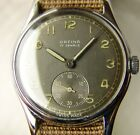 WWII PERIOD MENS ORFINA MILITARY STYLE WRISTWATCH GOOD CONDITION