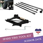 Spare Tire Jack Tool Kit For 2004 2014 Ford F 150 and 2 Ton Scissor Jack
