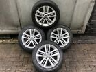 HYUNDAI COUPE 2007 ALLOY WHEELS AND TYRES 5 STUD 205 55 16