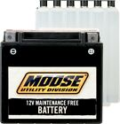 Moose AGM Maintenance Free Battery YTX4L BS fit SMALL KIDS ATVS 50cc 70cc 90cc