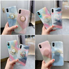 For iPhone XS Max XR X 8 7 6s Plus Bling Floral Girls Cute Slim Phone Case Cover