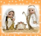 Precious Moments Doll Christmas Nativity Mary Joseph Jesus NEW Set