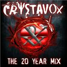 CRYSTAVOX - 20 Year Mix - 2 CD - Import - **BRAND NEW/STILL SEALED** - RARE