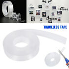 Magic Double sided Tape Traceless Washable Adhesive Tape Nano Invisible Gel USA