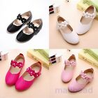 Toddler Baby Girl Shoes Kids Flats Mary Jane Flats Dress Pink Princess Shoes Hot