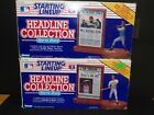 2 1991 Kenner Starting Lineup Headline Collection Ken Griffey Jr Jose Canseco