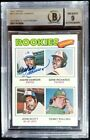 1977 Topps #473 Andre Dawson Signed Rookie Card Autograph RC BGS BAS 9 Auto Cubs