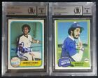 1981 Topps & Fleer Harold Baines Signed Rookie Autograph Lot RC BGS BAS 9 Auto