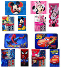 Disney Bathroom Set Shower Curtain Memory Mat Bath Towel Mickey Minnie Spiderman
