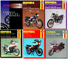Honda CB250,CB400N,CB750,CB900,Cbx550,CG125,GL1200 Manual collection [6 manuals]