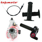26mm Mikuni Carburetor Twist Throttle 22mm Hand Grips Cable Line for 150cc 160cc
