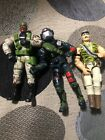 2 GI Joe  1987 LAW  ORDER 1992 GUNG HO loose