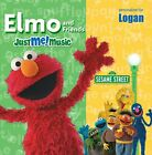 ELMO AND SESAME STREET CAST - Sing Along With Elmo And Friends: Logan - CD - VG