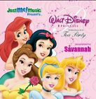 Disney Princess Tea Party: Savannah - CD - **Excellent Condition** - RARE