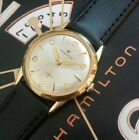Vintage 1950s Mans Hamilton Hand Wind Fully Serviced Ready To Wear