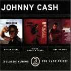 JOHNNY CASH - Bitter Tears/blood, Sweat And Tears/ring Of Fire - 3 CD - Box VG