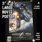 1 Large 3' x 5' one-sided 2013 PACIFIC RIM Poster