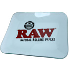 RAW Large Glass Rolling Tray 14 x 11 inch LIMITED EDITION Roll papers Cones