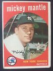 1959 Mickey Mantle #10 Baseball Card Estate Sale Crease 3 day listing