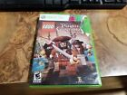 Microsoft Xbox 360 - Complete in box - Lego Pirate of Caribbean Video Game