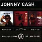 JOHNNY CASH - Bitter Tears/blood, Sweat And Tears/ring Of Fire - 3 CD - Box Mint