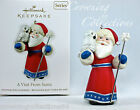 2011 Hallmark A Visit from Santa Claus Keepsake Ornament 3rd in Series Snow Owl