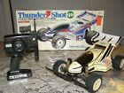 VINTAGE Tamiya THUNDER SHOT Quick Drive RC Electric 1989 RARE  { EXCELLENT }