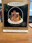 1995 Hallmark MAGIC light motion FOREST FROLICS #7 Christmas ORNAMENT