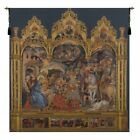 Adorazione dei Magi Altarpiece I Nativity Adoration Woven Tapestry Wall Hanging