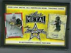 2019 Leaf Metal All American Bowl Football Hobby Box 8 Autographs!