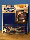 1990 Chris Sabo Starting Lineup Figure and Collectors Card
