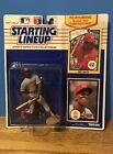 1990 Starting Lineup Eric Davis Figure and Collectors Cards