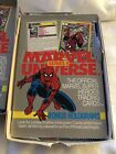 1991 MARVEL UNIVERSE Series II 2 Trading Cards , Unsealed Box