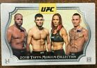 2018 Topps Museum Collection UFC Factory Sealed Hobby Box 3 Hits AUTOGRAPH