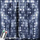 Outdoor Nativity Scenes 197ft X 98ft 600 LEDs Curtain Light UL Listed Power