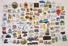 VINTAGE REFRIGERATOR MAGNET LOT 120pc STATES TRAVEL SOUVENIR MAGNETS