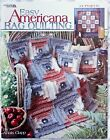 Americana Rag Quilting Quilt Pattern Book 24 Projects 2002 Annis Clapp
