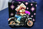 Vintage Christopher Radko Harley Davidson Christmas Ornament Bearly Crusin' rare