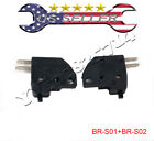 Hydraulic Brake Light Safety Starter Switch Left  Right for 49cc 50cc Moped GY6