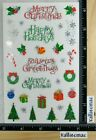 Mrs Grossman CHRISTMAS HOLIDAY REFLECTIONS Stickers MERRY CHRISTMAS