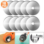 US 10X 45mm Circular Cutting Rotary Cutter Refill Blades Sewing Quilting Tools