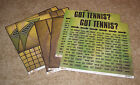 Scrappin Sports  More Got Tennis Double Sided Paper Lot 6