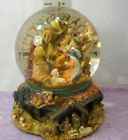 Large Musical Water Snow Globe Revolving Base Christmas Nativity Scene
