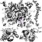 Iron Orchid Designs Decor Clear Stamps 12X12 Floral 655350815745