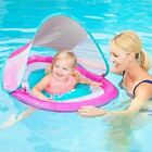 SwimWays Baby Spring Float Sun Canopy PINK Swimming Pool Toy Child Toddler Kids