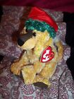 NWT 12-3-2000 TY Beanie Babies baby JINGLEPUP Holiday Puppy Dog Plush